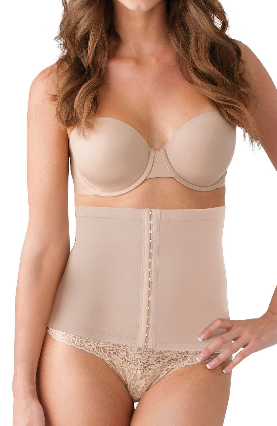 Post Pregnancy Protective Belly Shield,                         Main,                         color, Nude