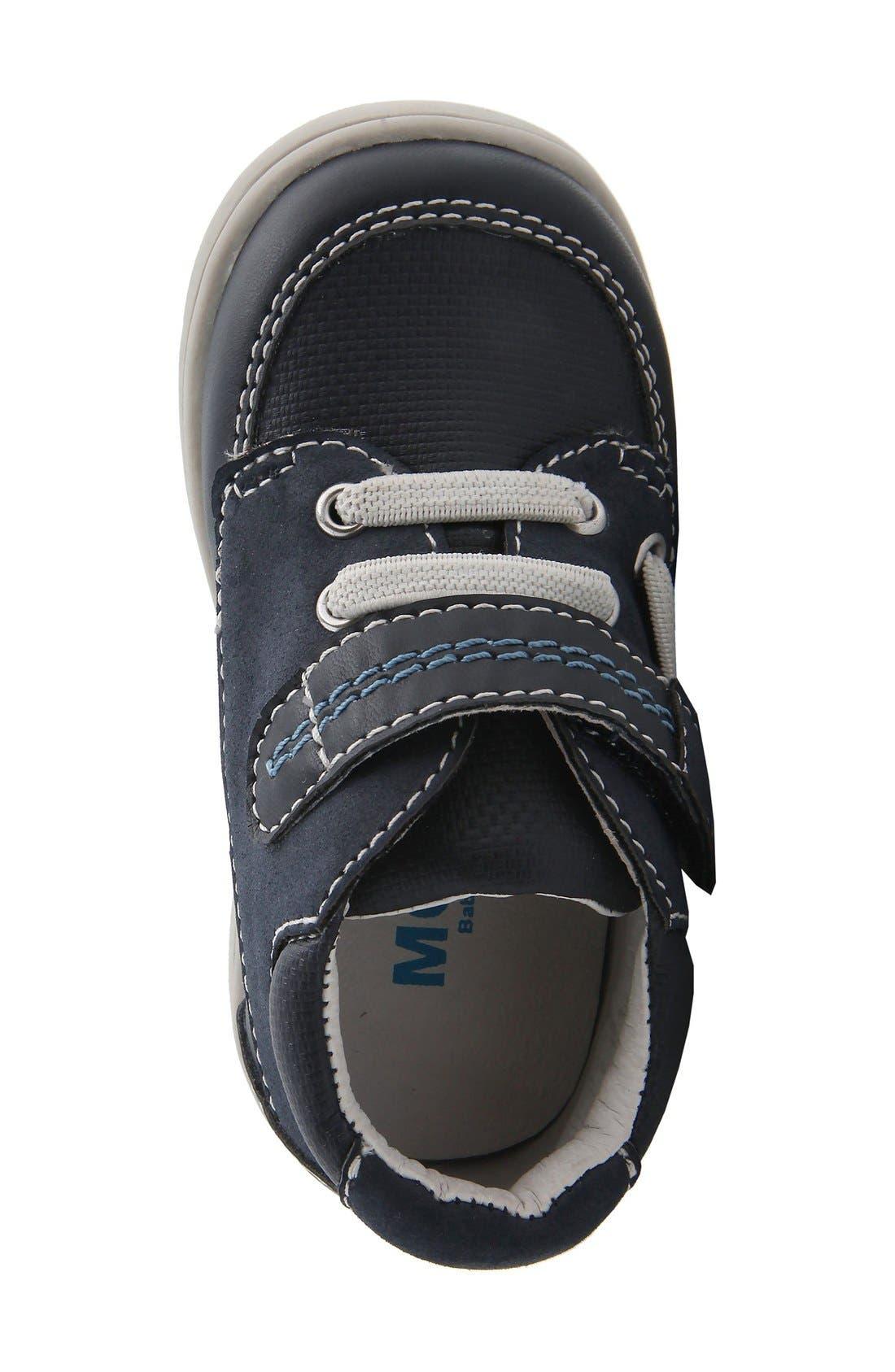 Nina 'Blur' Sneaker,                             Alternate thumbnail 2, color,                             Navy Burnished
