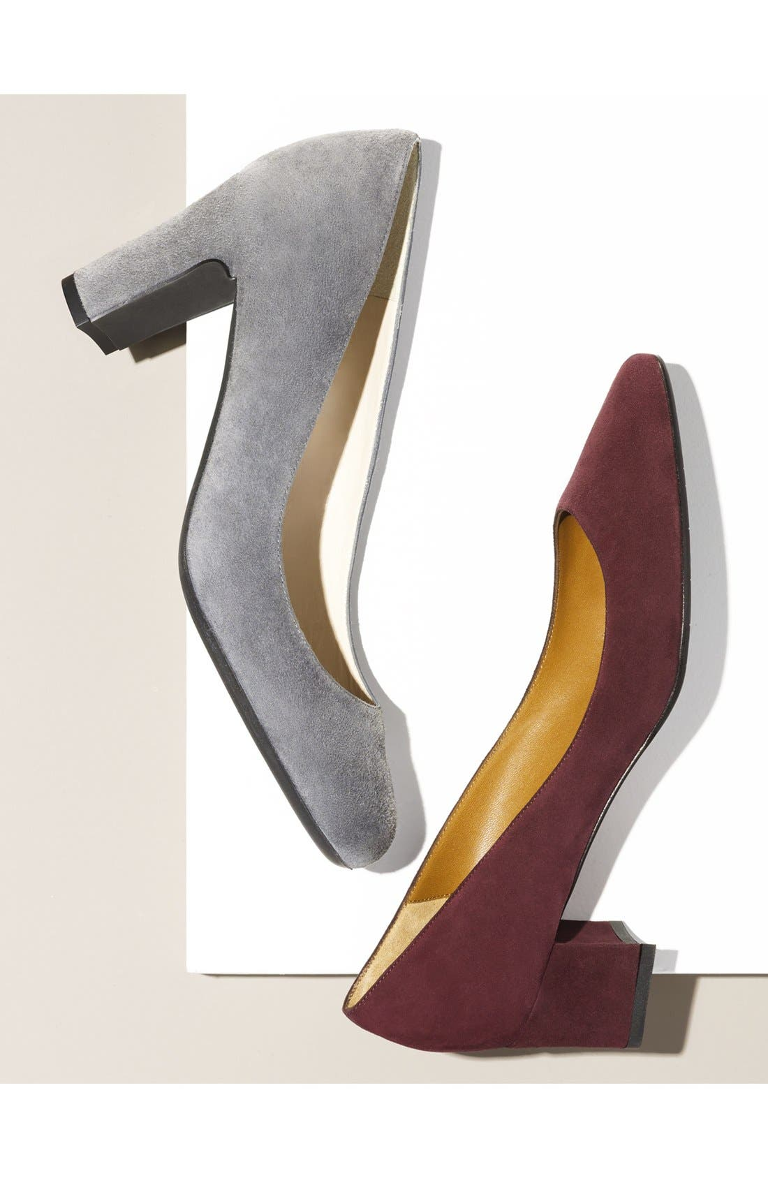 Alternate Image 5  - Aquatalia 'Pheobe' Weatherproof Almond Toe Pump (Women)