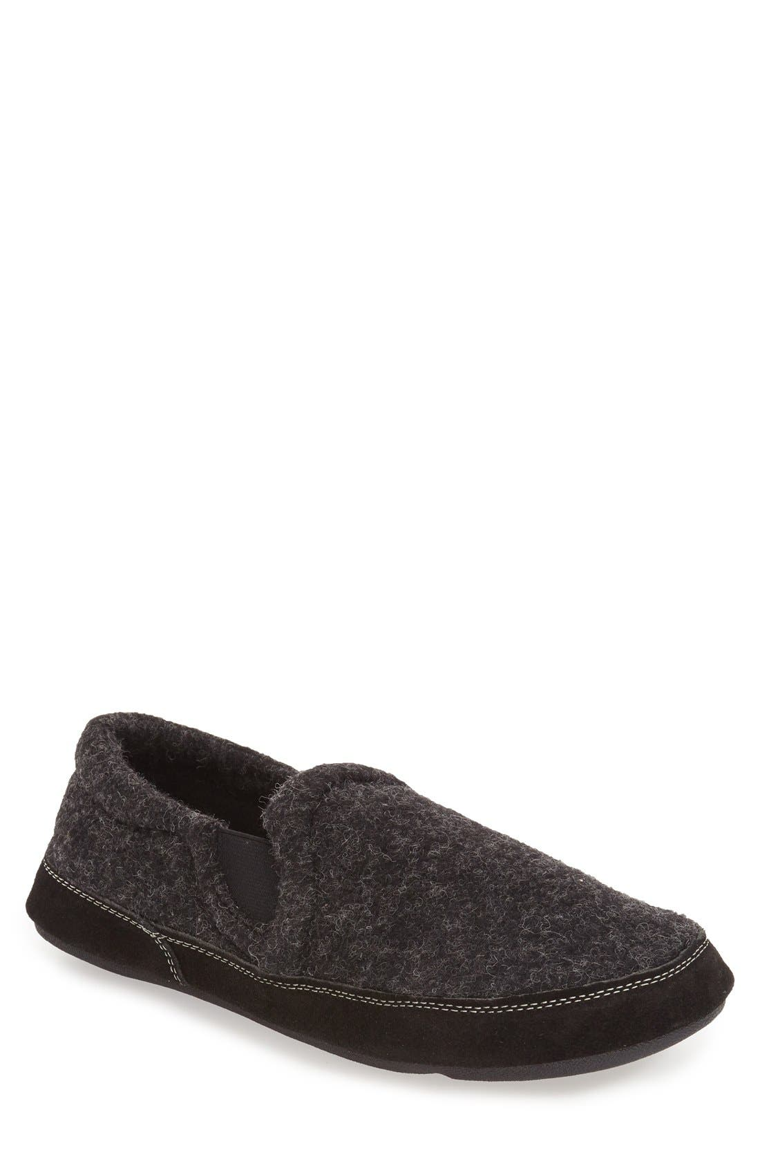 ACORN 'Fave' Slipper in Black