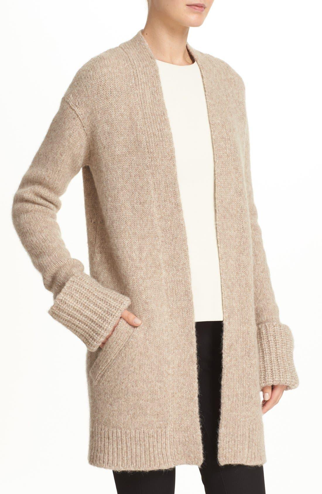 Alternate Image 4  - Theory 'Analiese B Hazy' Alpaca Blend Open Front Cardigan