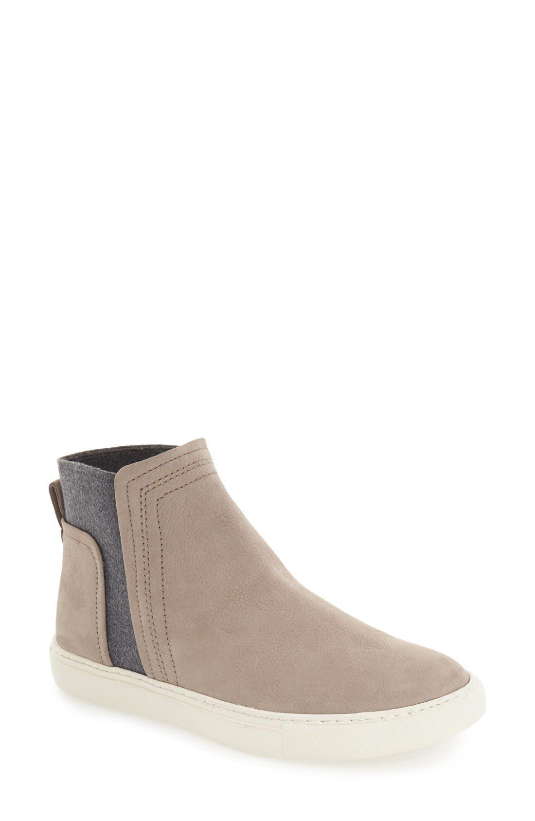Alternate Image 1 Selected - Kenneth Cole New York 'Ken' Leather Slip-On Sneaker (Women)