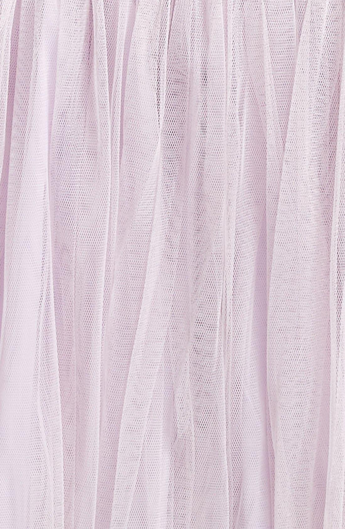 Alternate Image 2  - Popatu Empire Waist Lace Dress (Baby Girls)