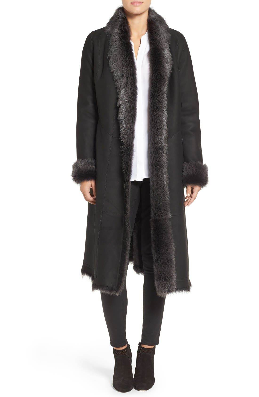 HiSO River 43 Genuine Toscana Shearling Coat