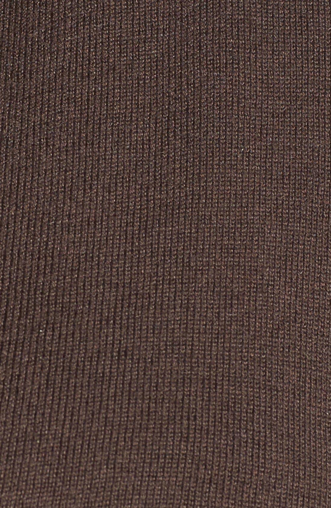 '4-Way' Three Quarter Sleeve Convertible Cardigan,                             Alternate thumbnail 5, color,                             River Rock