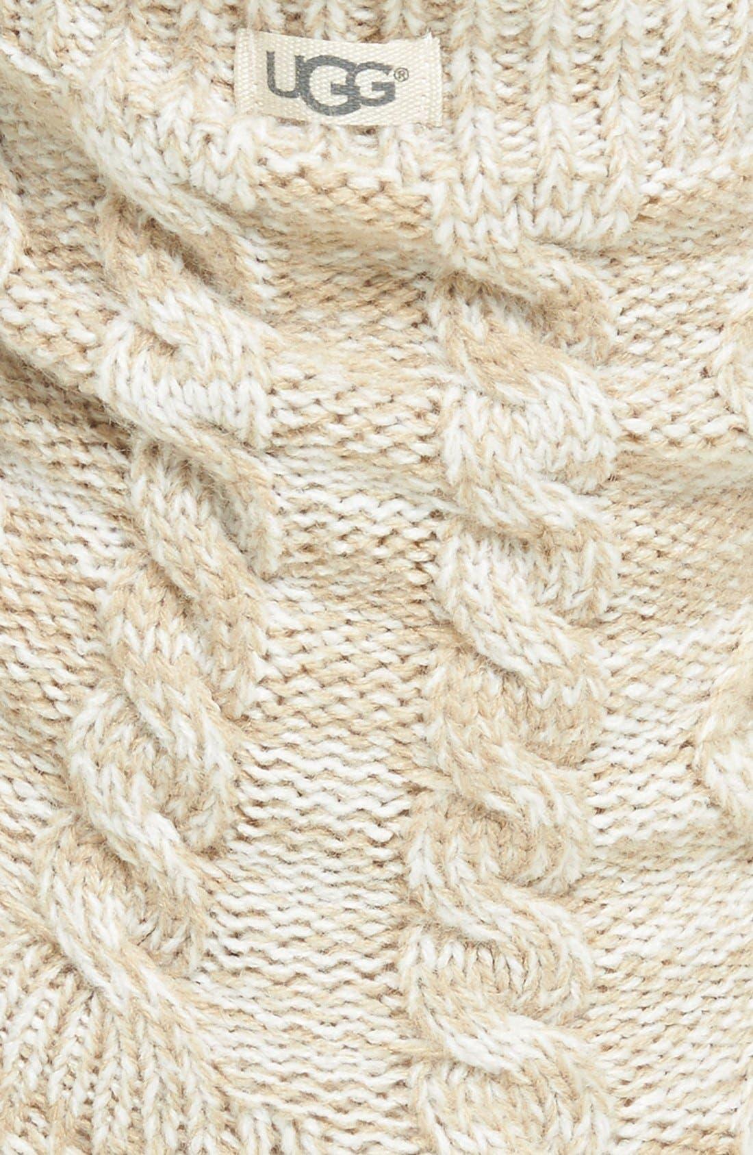 Alternate Image 3  - UGG® Fleece Lined Socks