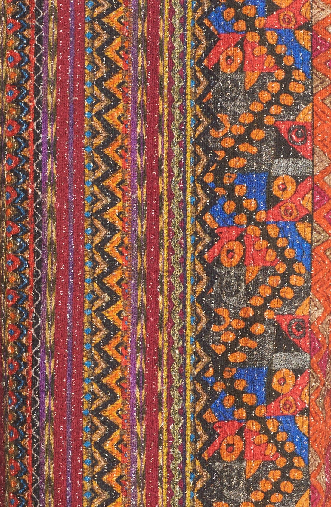 Alternate Image 3  - Etro Ribbon Print Cotton Blend Vest