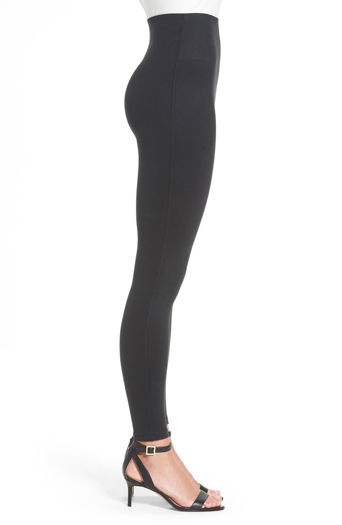 Alternate Image 3  - SPANX® High Waist Leggings