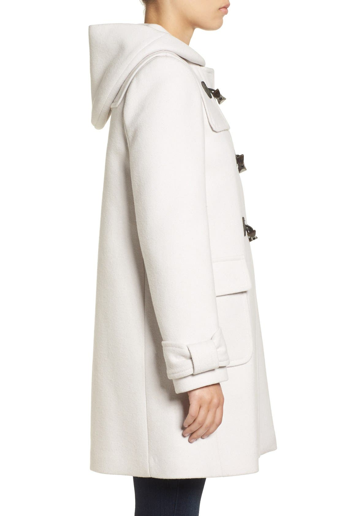 Alternate Image 3  - kate spade new york hooded wool blend walking coat