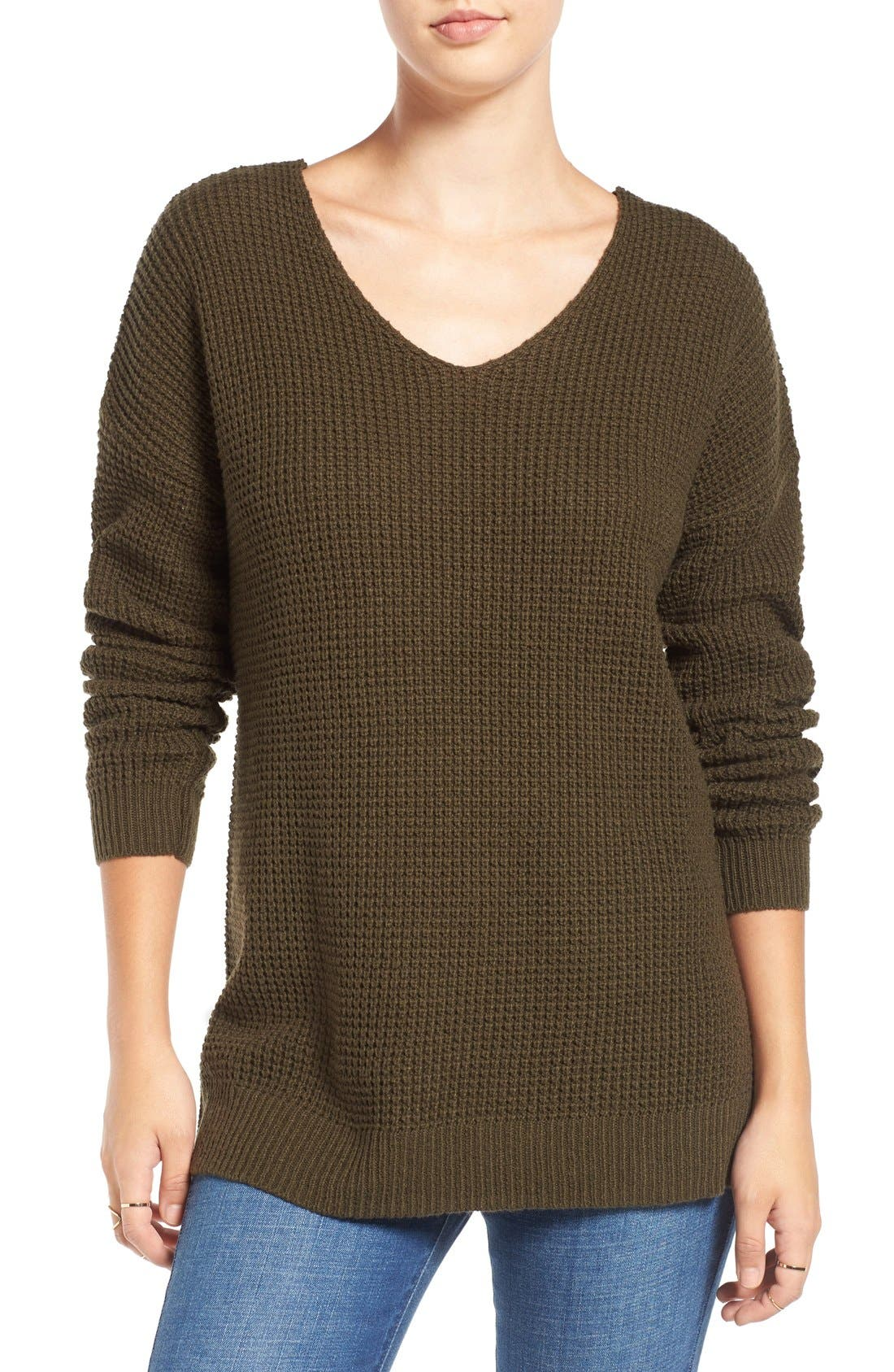 Main Image - BP. Texture Knit Pullover