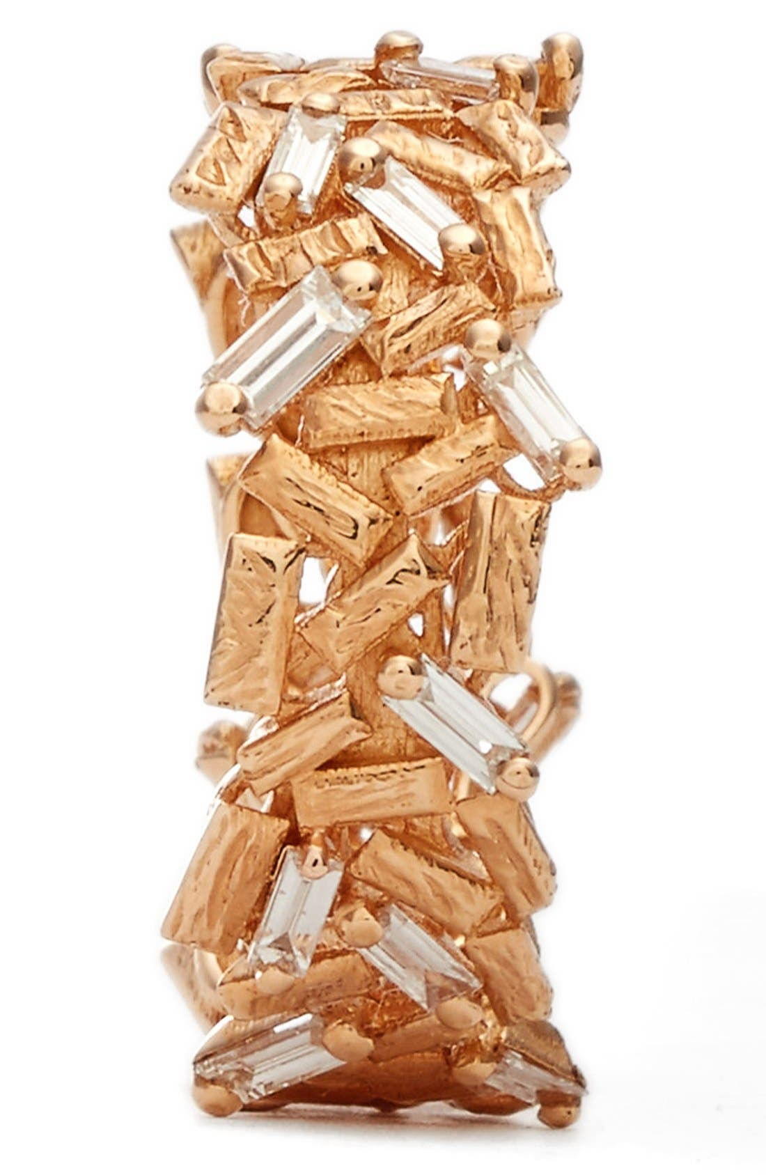 Alternate Image 2  - Suzanne Kalan 'Firework' Baguette Diamond Eternity Ring