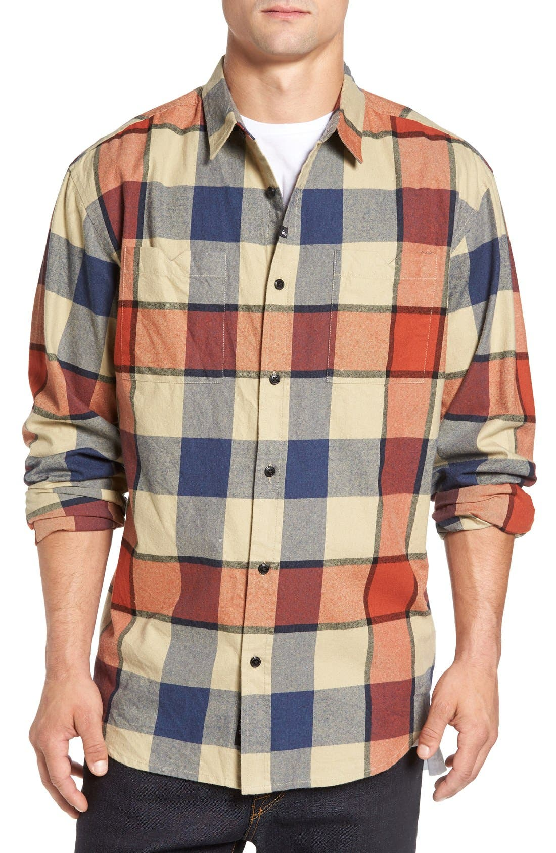 Imperial Motion 'Hanson' Check Flannel Shirt