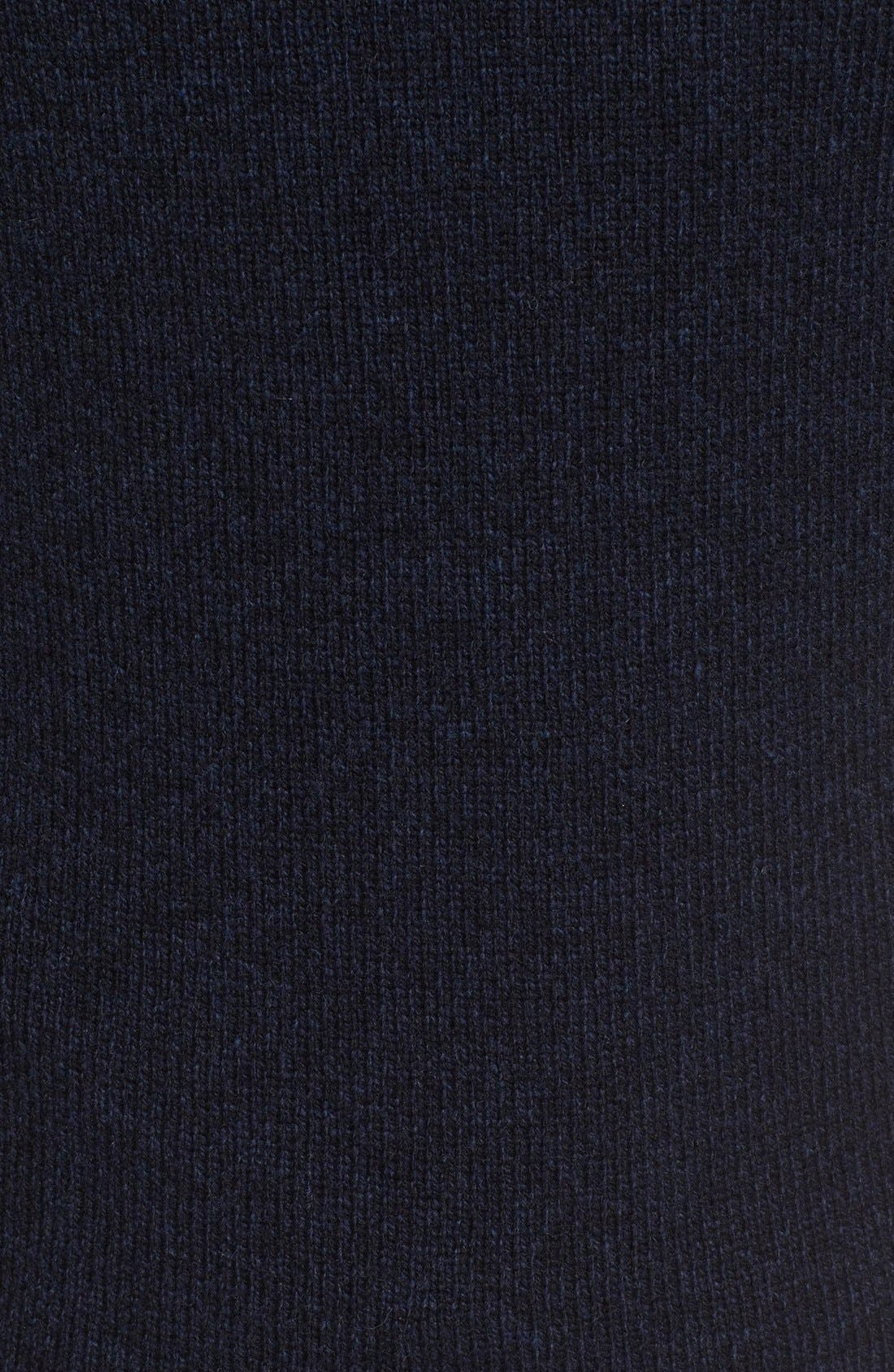 Stredwick Lambswool Sweater,                             Alternate thumbnail 5, color,                             Midnight