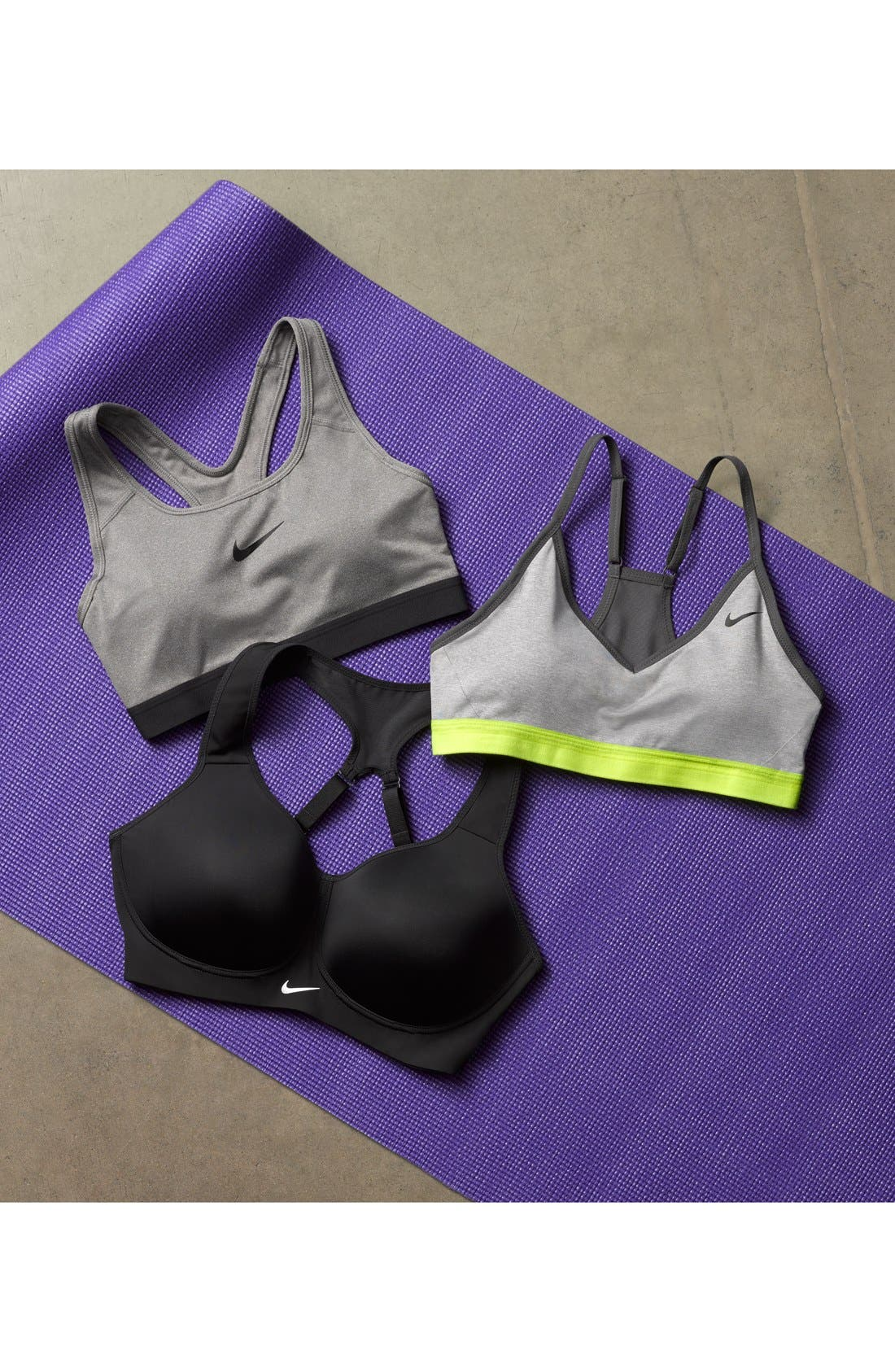 Alternate Image 8  - Nike 'Pro Classic' Dri-FIT Padded Sports Bra