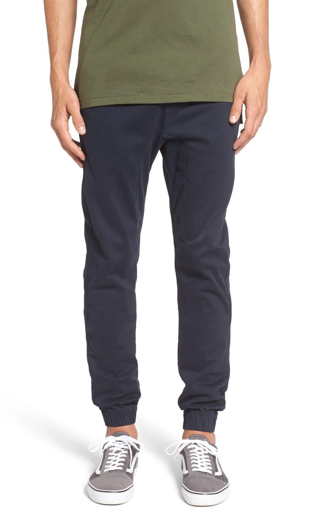 Sureshot Jogger Pants,                         Main,                         color, Navy