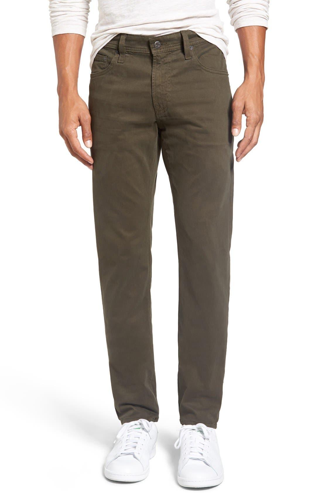 Alternate Image 1 Selected - AG Dylan Slim Fit Pants