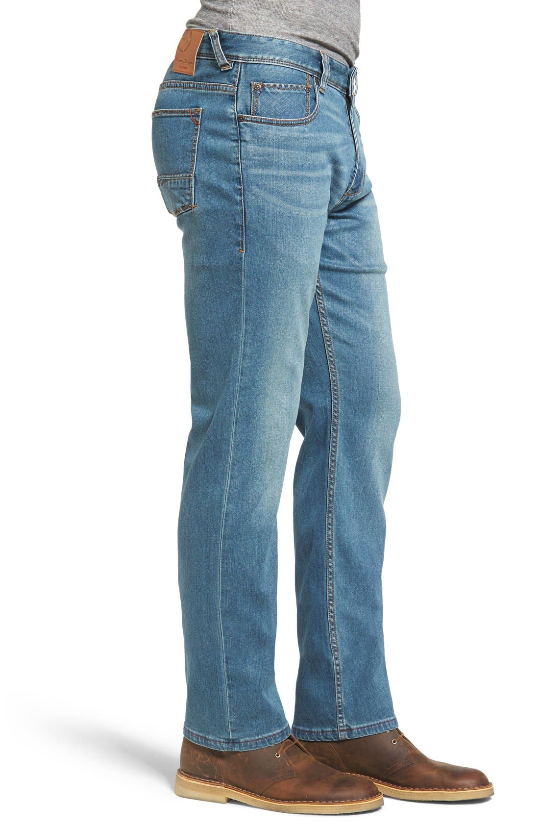 Sand Drifter Straight Leg Jeans,                             Alternate thumbnail 3, color,                             Vintage Wash