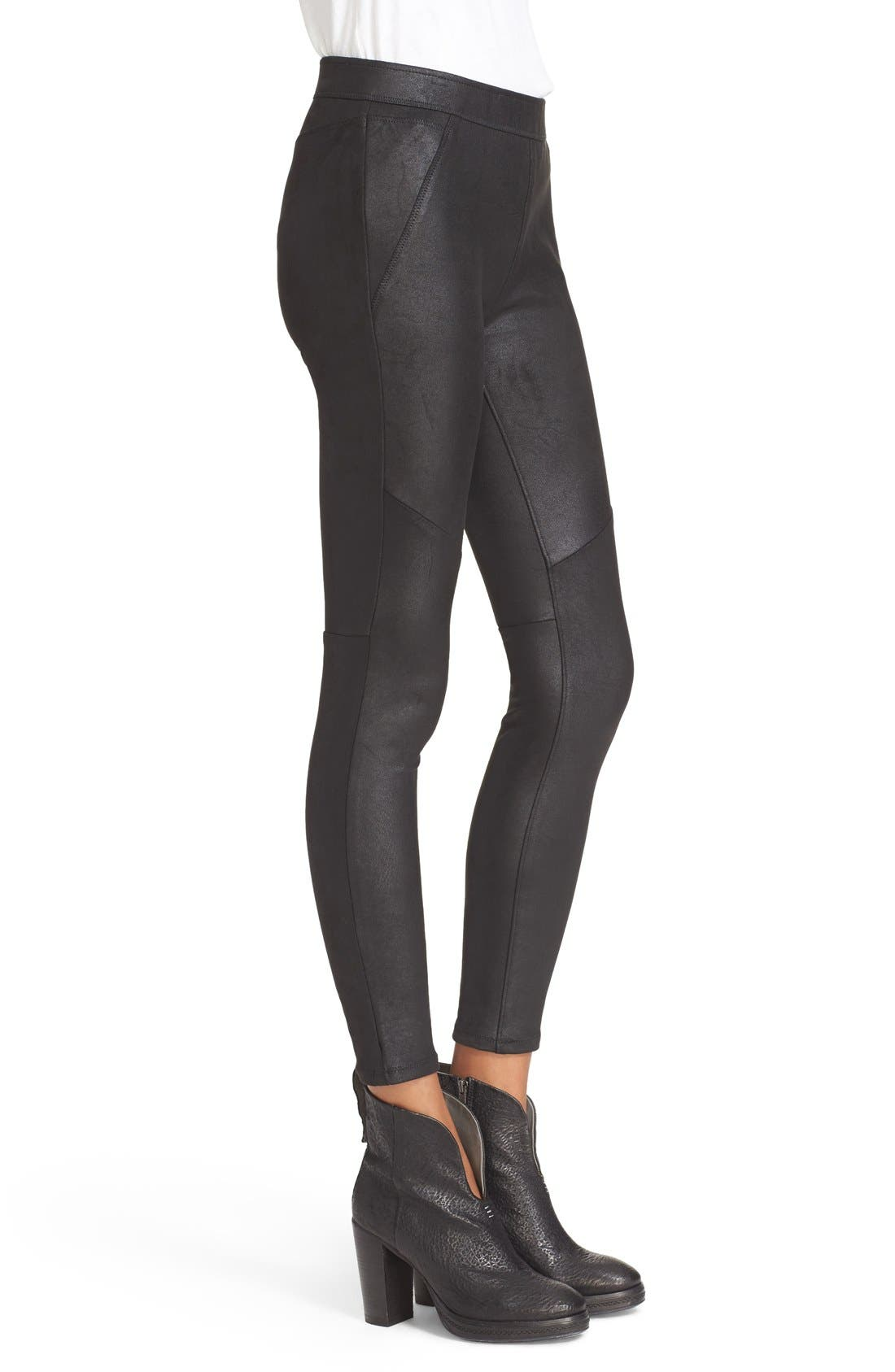 Alternate Image 3  - Free People Never Let Go Faux Leather Pants