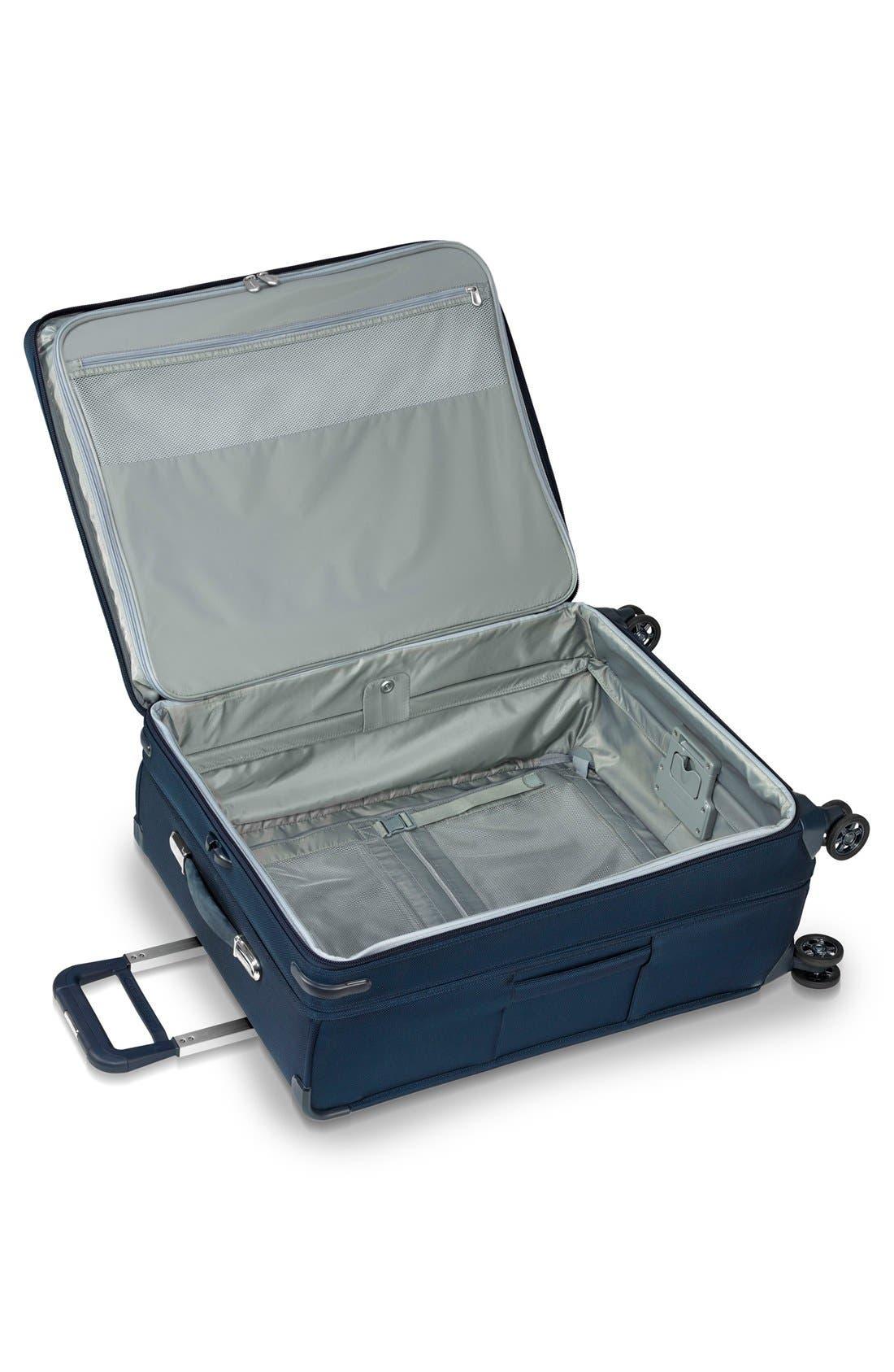 Baseline 28 Inch Expandable Rolling Suitcase,                             Alternate thumbnail 2, color,                             Navy