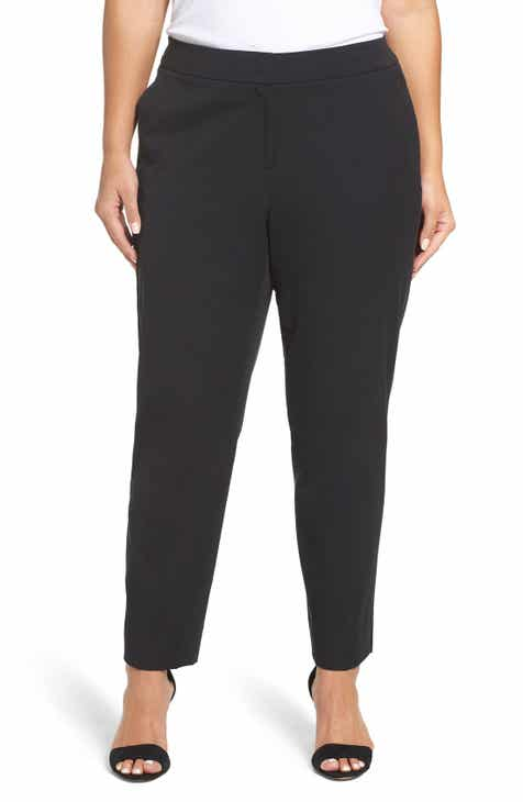 2aa12154e1663 Sejour Straight Leg Ankle Pants (Plus Size)