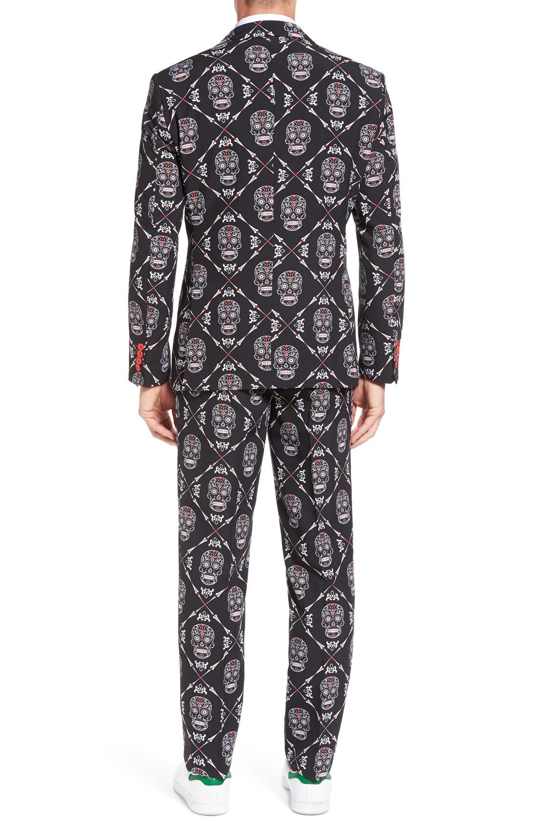 Alternate Image 2  - OppoSuits 'Haunting Hombre' Trim Fit Suit with Tie