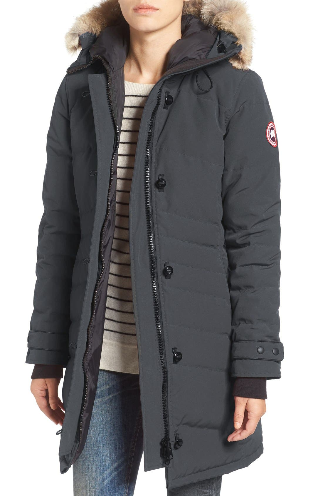 canada goose Vests Iron Grey