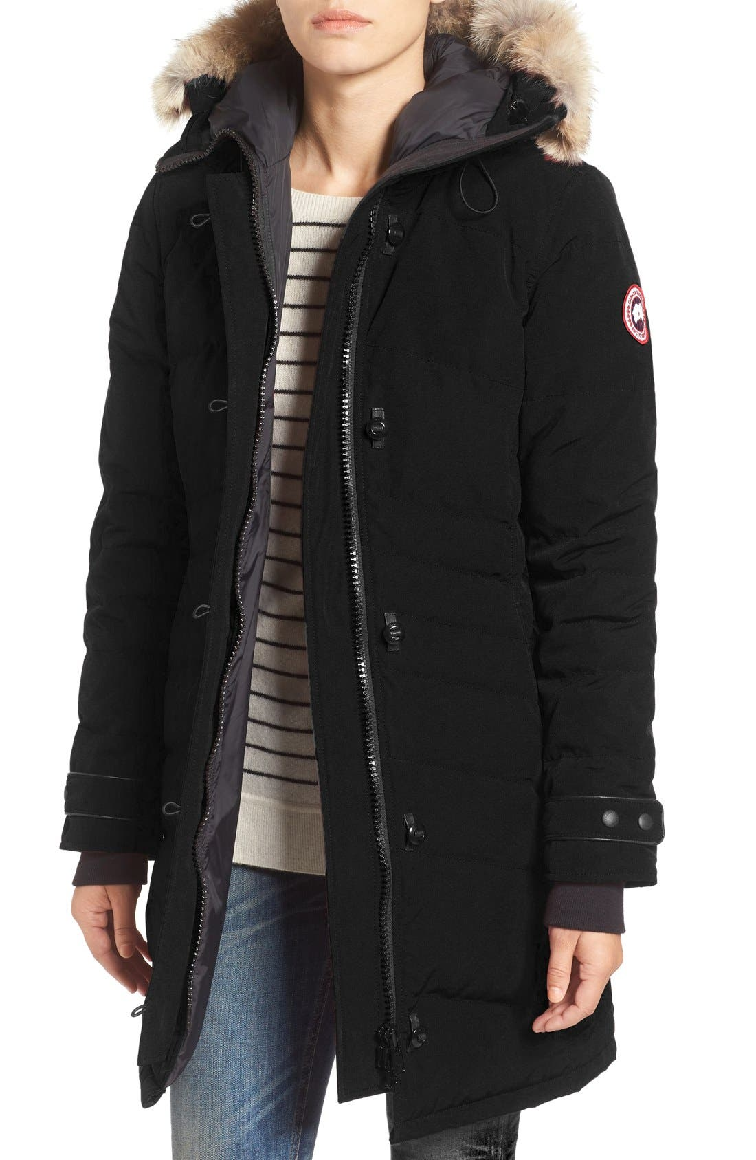 canada goose Lightweight Down Jackets Polar Sea Black