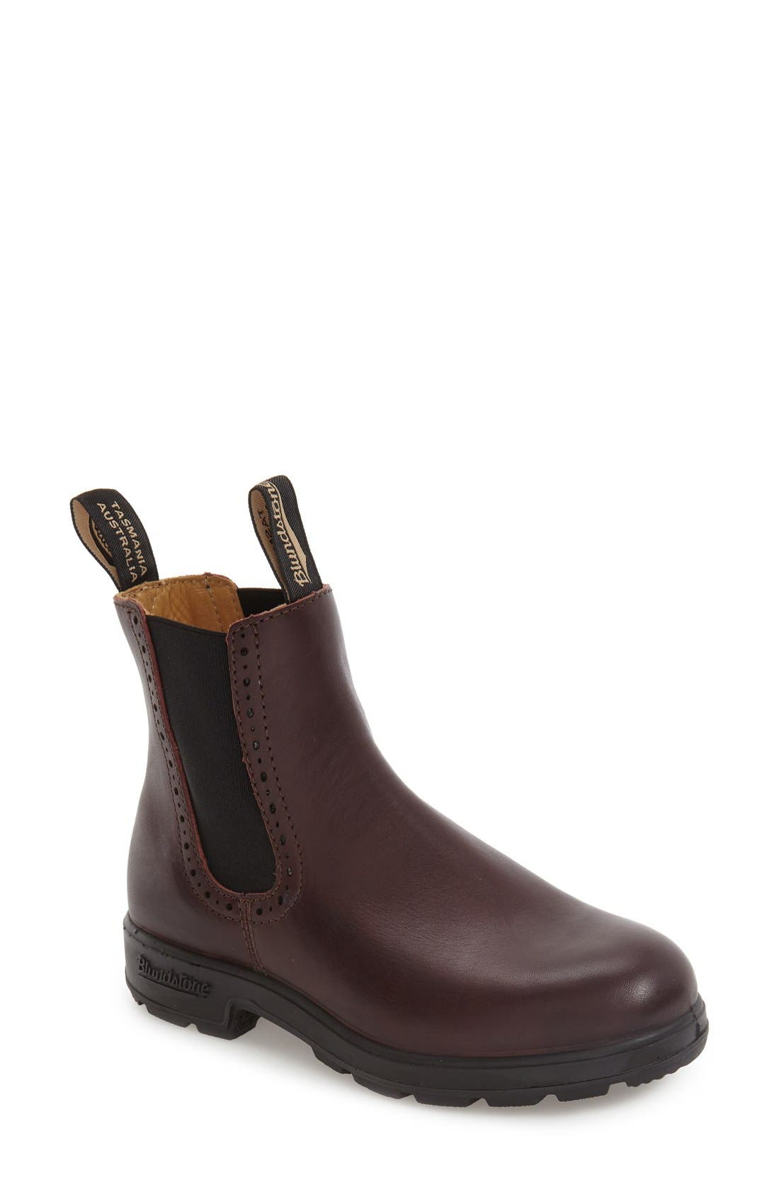 Footwear 'Original Series' Water Resistant Chelsea Boot,                             Main thumbnail 1, color,                             Shiraz Leather