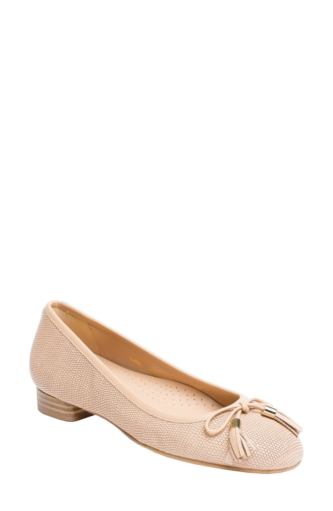 Alternate Image 1 Selected - UKIES Lara Ballet Flat (Women)