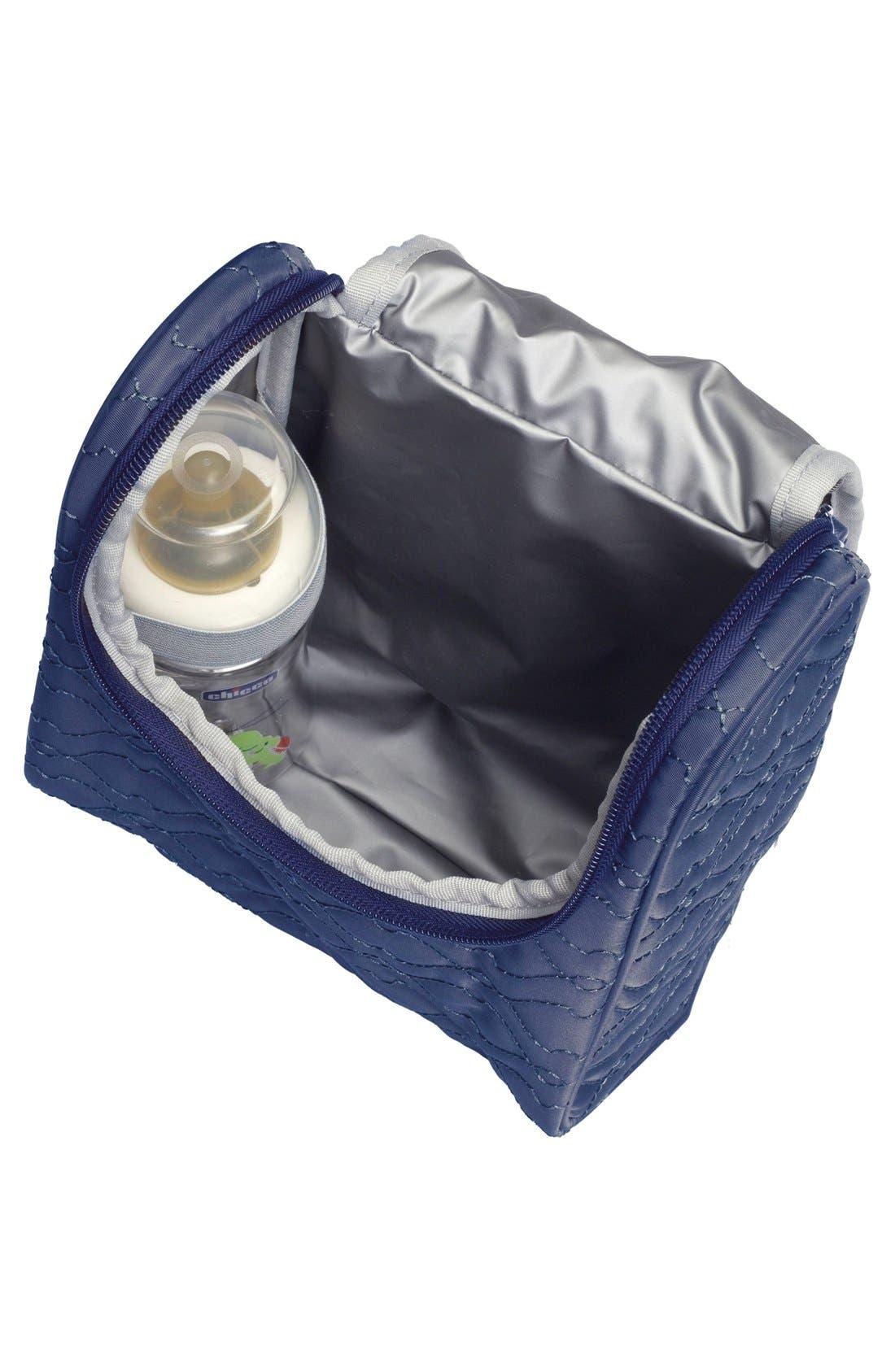 'Anna' Diaper Bag,                             Alternate thumbnail 3, color,                             Navy