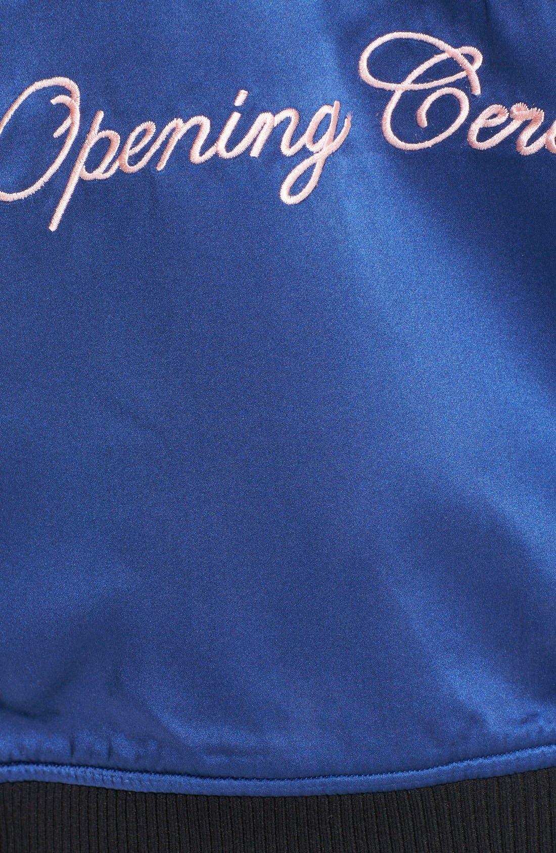 Alternate Image 6  - Opening Ceremony Reversible Embroidered Silk Bomber Jacket