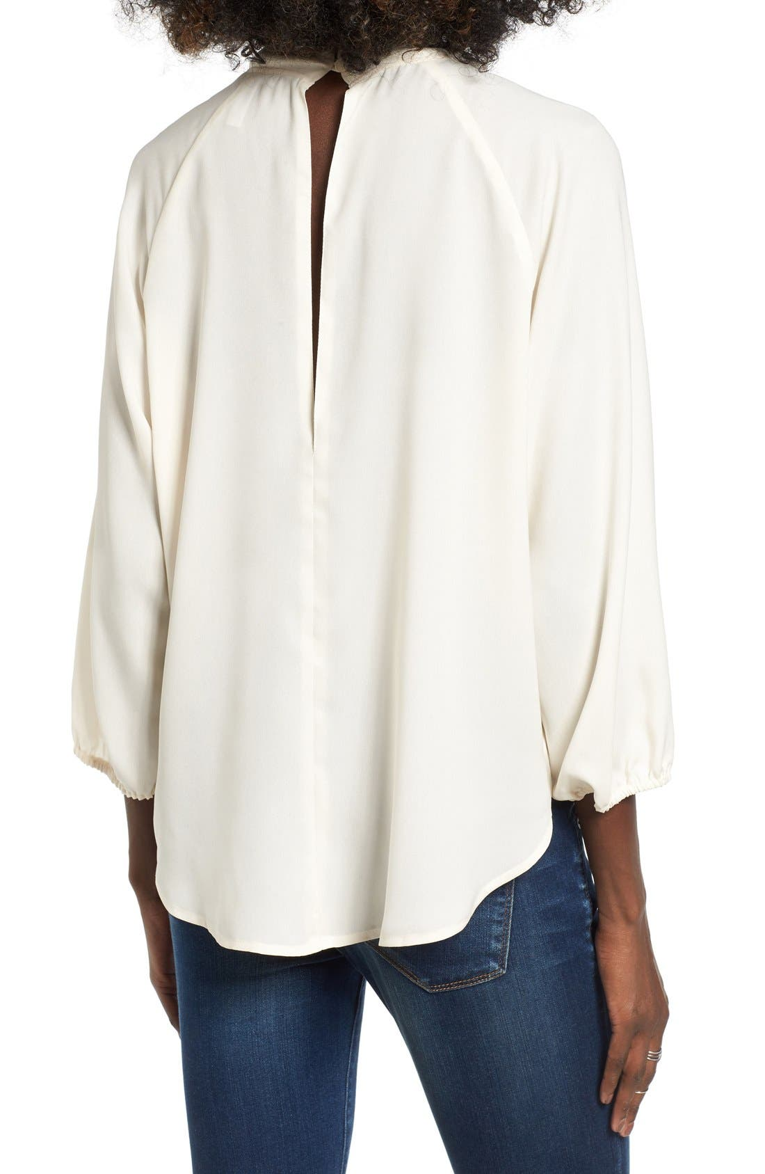 Alternate Image 2  - Leith Tie Neck Blouse