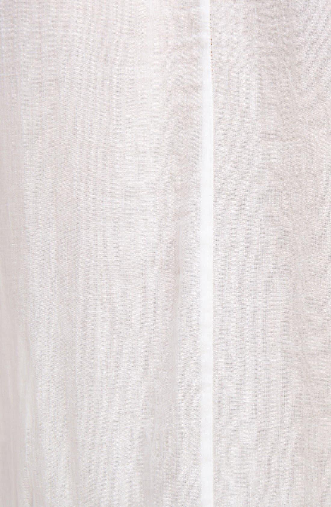 Alternate Image 3  - Givenchy Ruffle Crepon Peasant Blouse