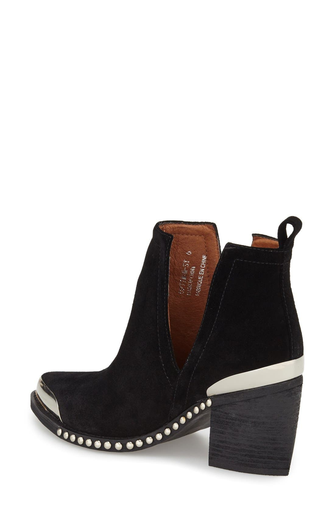 Alternate Image 2  - Jeffrey Campbell Optimum Pointy Toe Bootie (Women)