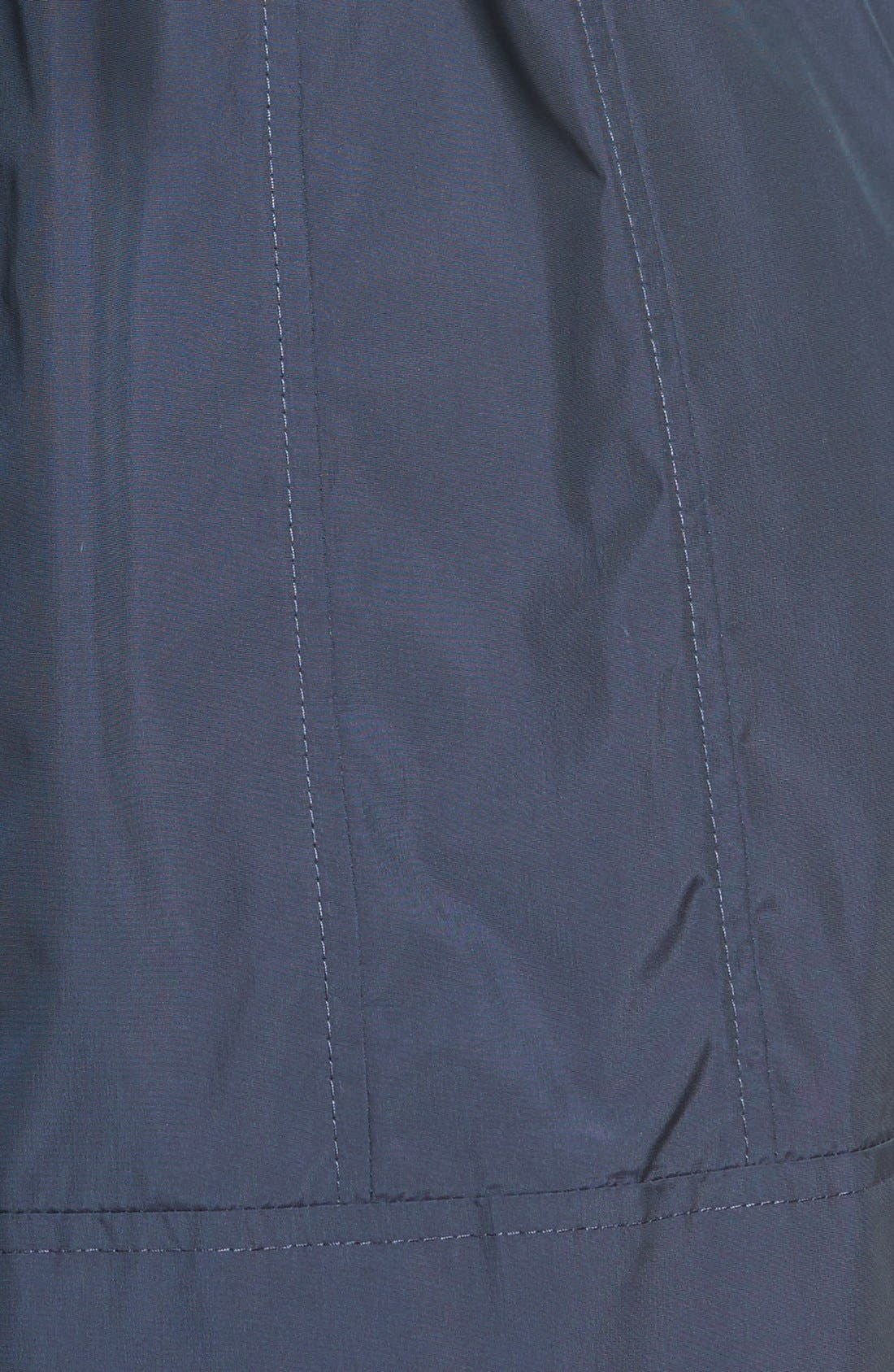 Alternate Image 4  - Cole Haan Signature Back Bow Packable Hooded Raincoat (Regular & Petite)