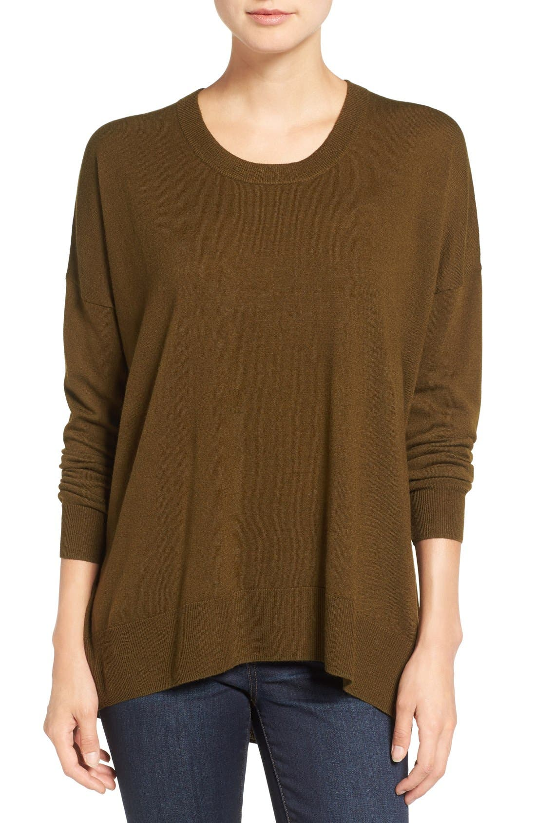 Alternate Image 1 Selected - Madewell Excursion Pullover Sweater