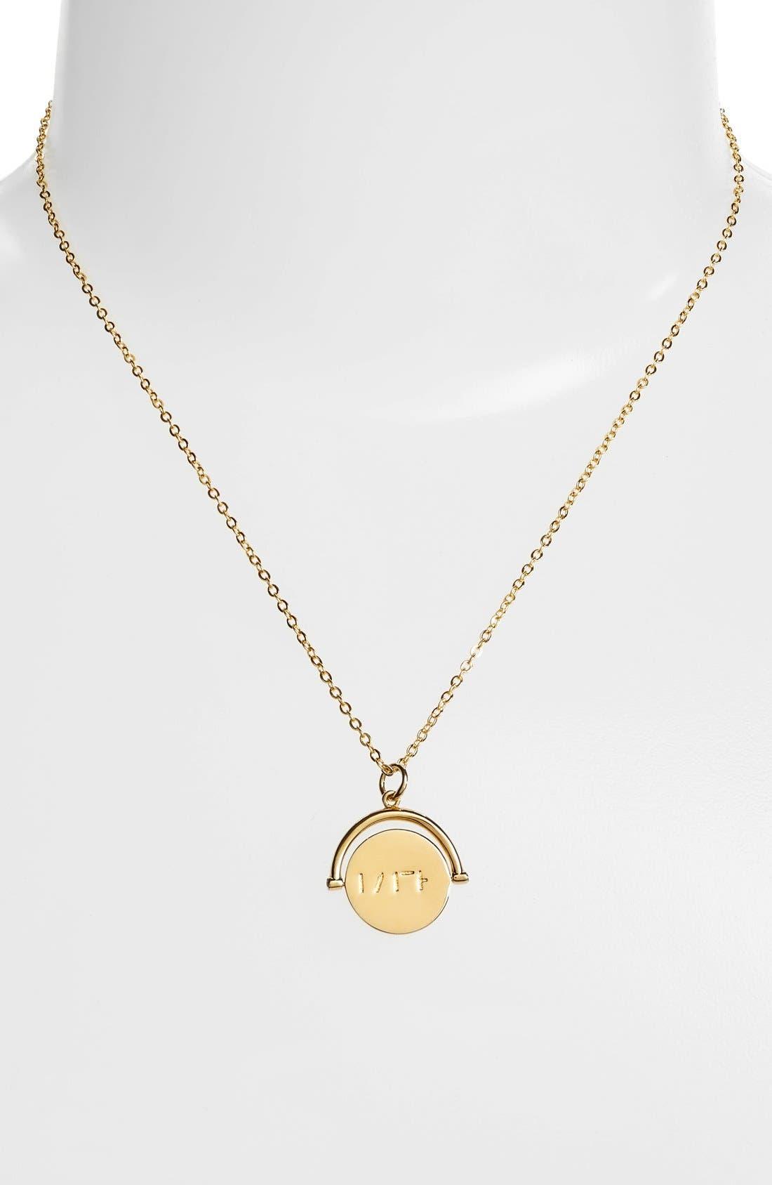 Alternate Image 3  - lulu dk Faith Love Code Charm Necklace