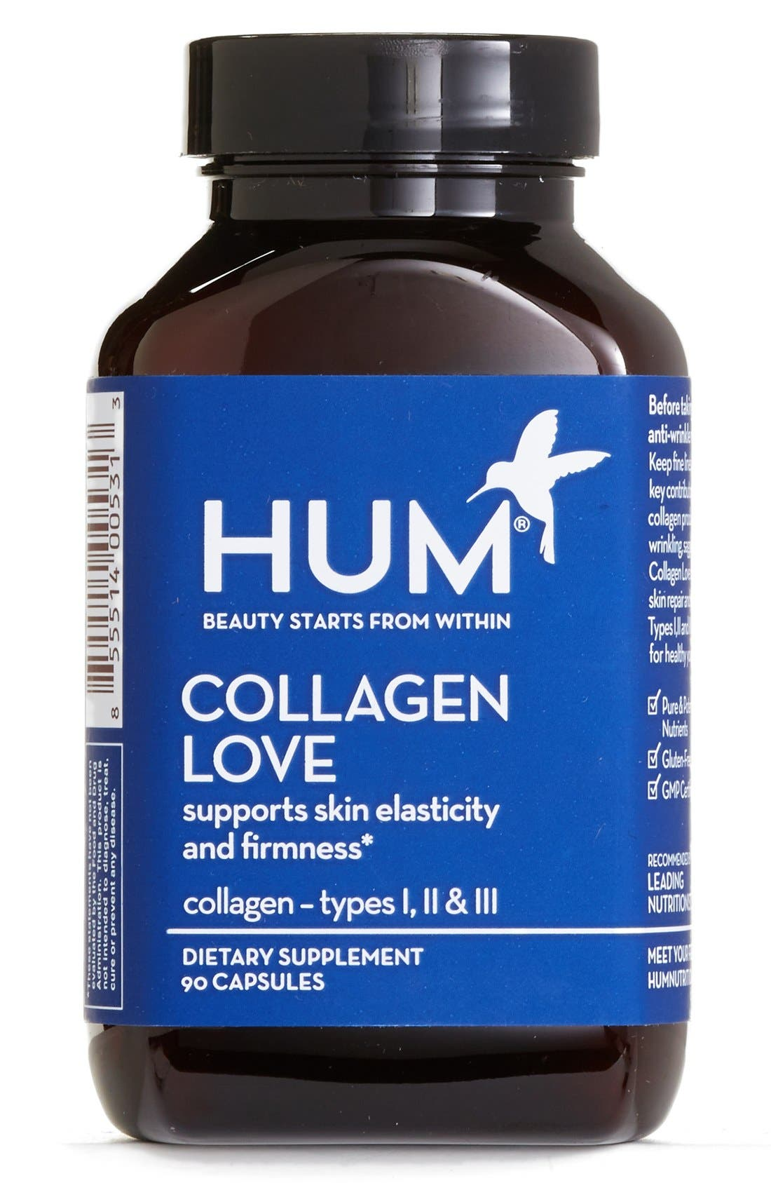 Alternate Image 1 Selected - Hum Nutrition Collagen Love Capsules