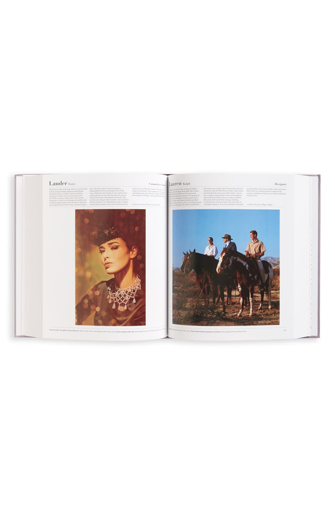'The Fashion Book' Book,                             Alternate thumbnail 4, color,                             Purple