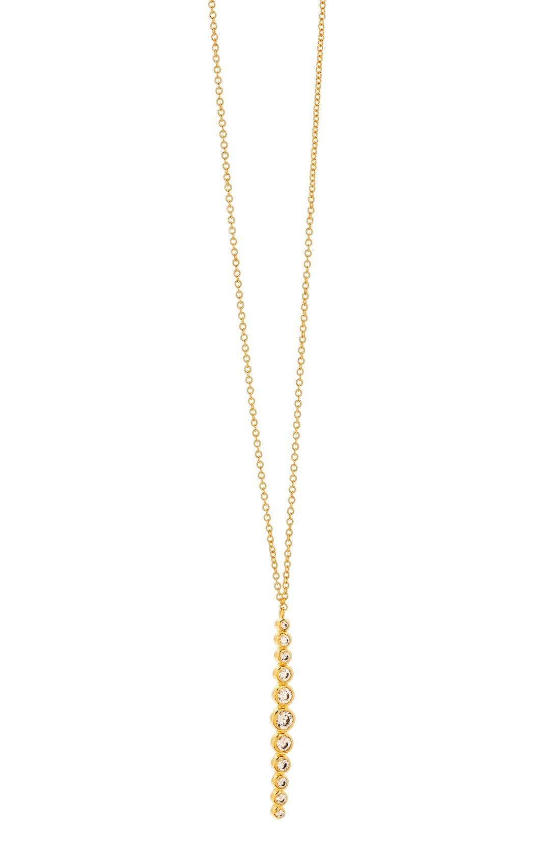gorjana Mae Cubic Zirconia Pendant Necklace