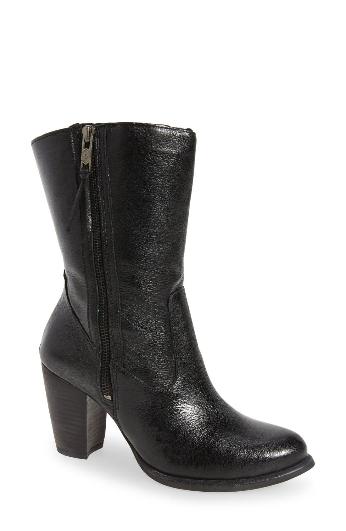 Alternate Image 1 Selected - UGG® 'Lynda' Block Heel Boot (Women)