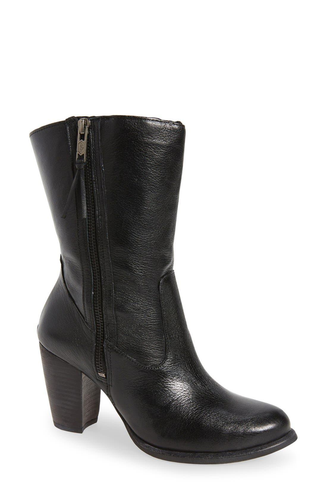 Main Image - UGG® 'Lynda' Block Heel Boot (Women)