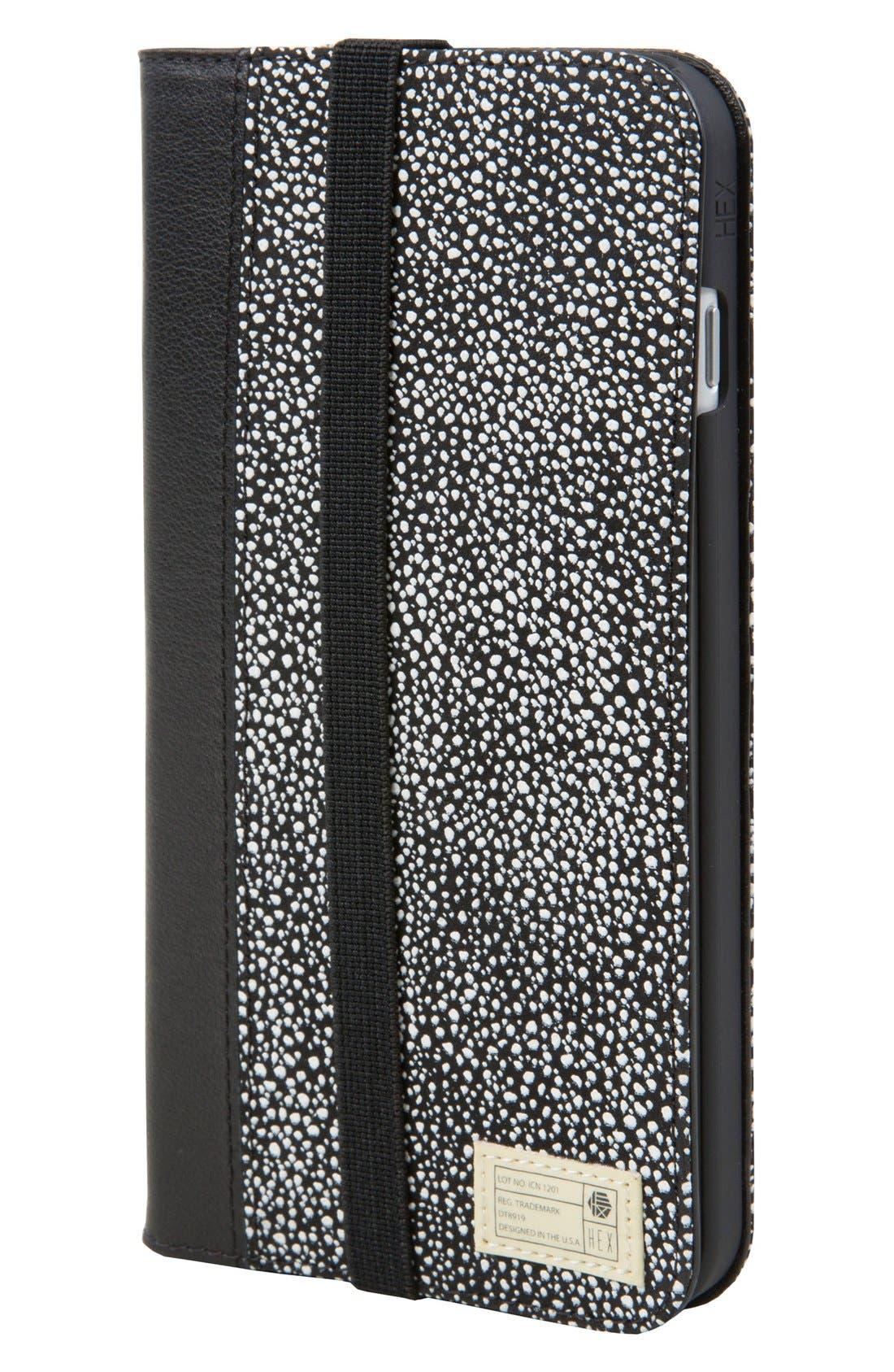 Main Image - HEX Icon iPhone 7/8 Plus Case & Wallet