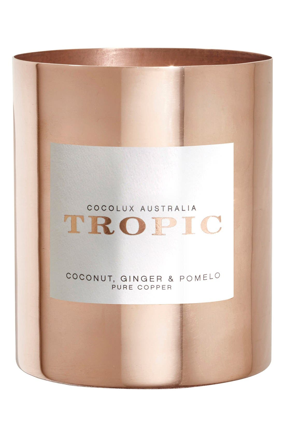 Main Image - Cocolux Australia Coconut, Ginger & Pomelo Copper Candle
