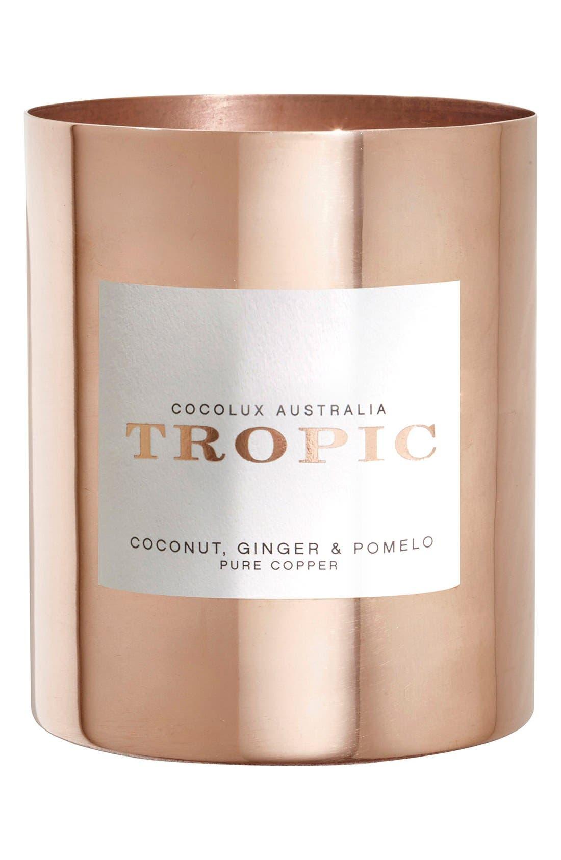Cocolux Australia Coconut, Ginger & Pomelo Copper Candle
