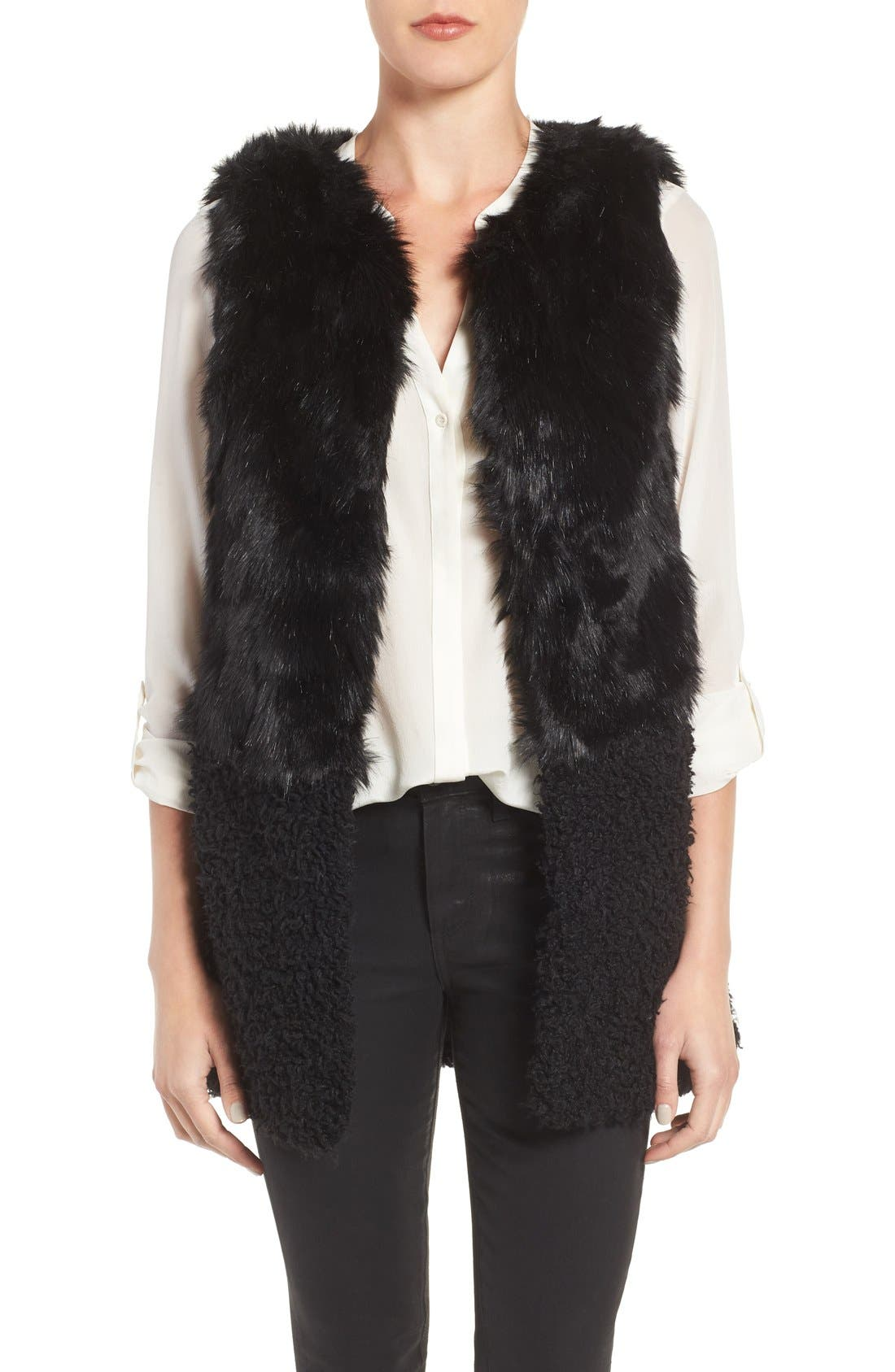 Alternate Image 1 Selected - Hinge Faux Fur Vest
