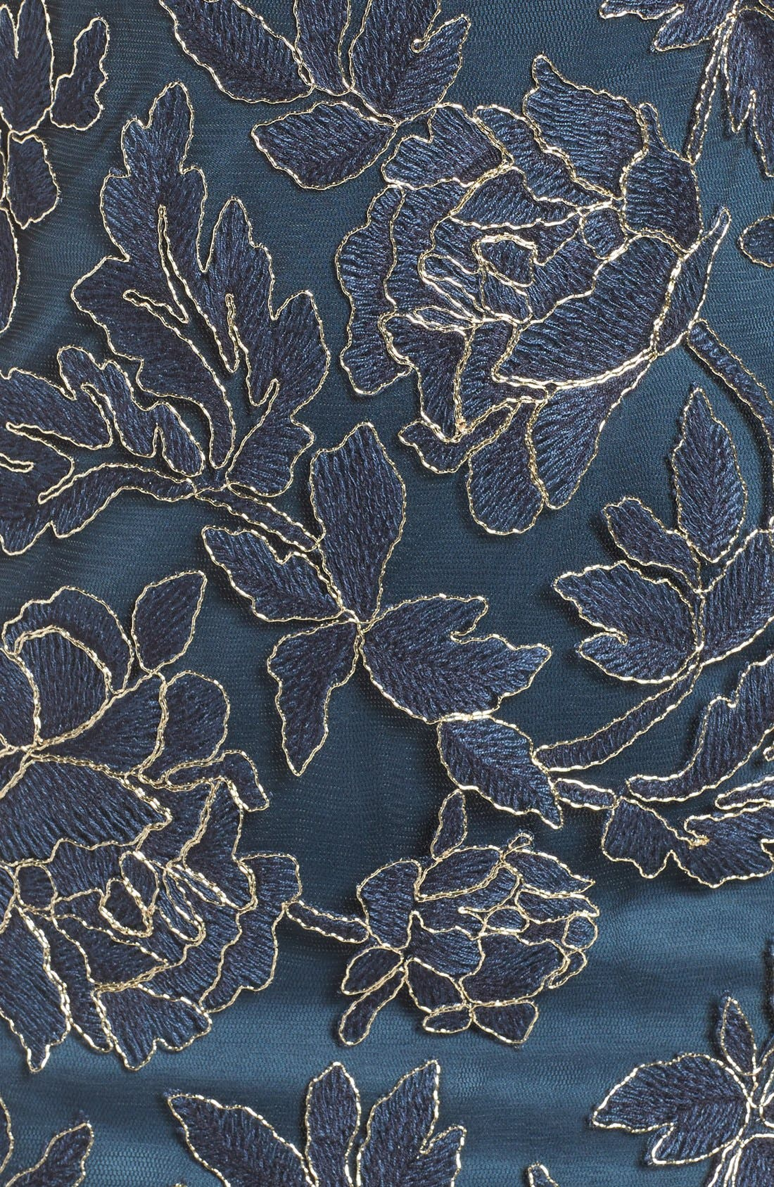 Alternate Image 6  - Tadashi Shoji Embroidered Mesh Sheath Dress (Regular & Petite)