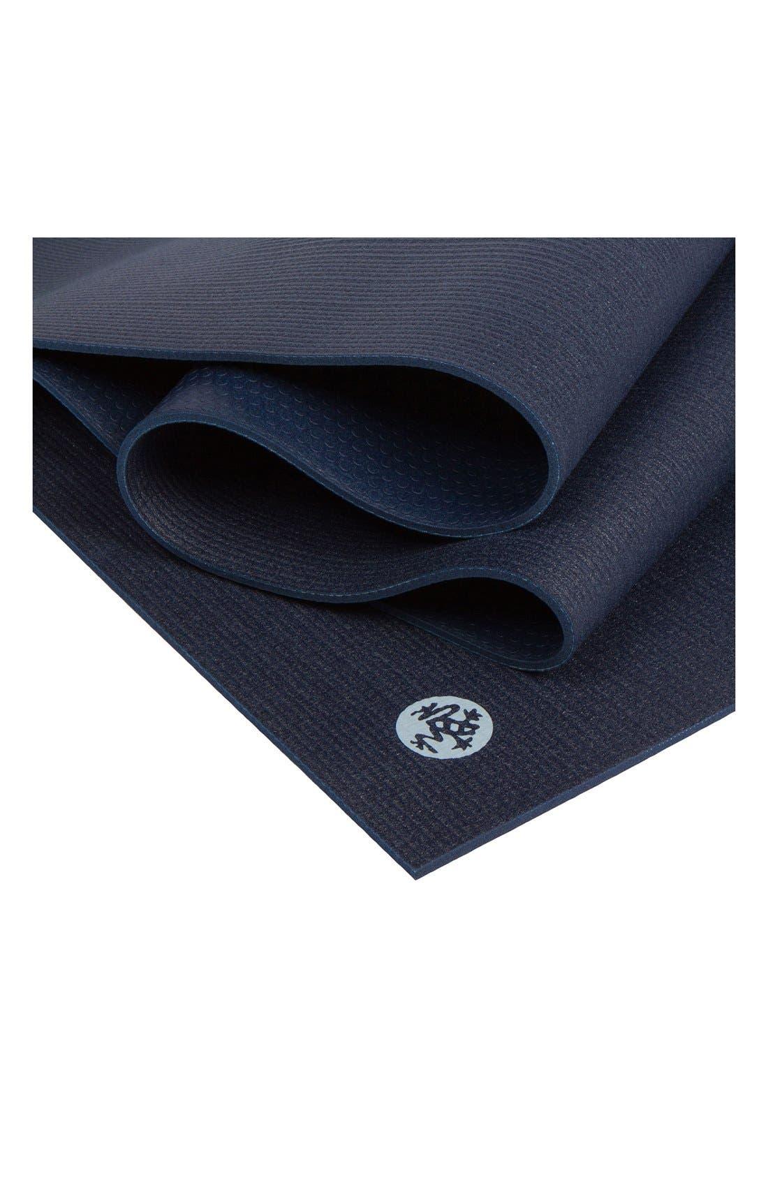 'ProLite' Yoga Mat,                             Alternate thumbnail 4, color,                             Midnight