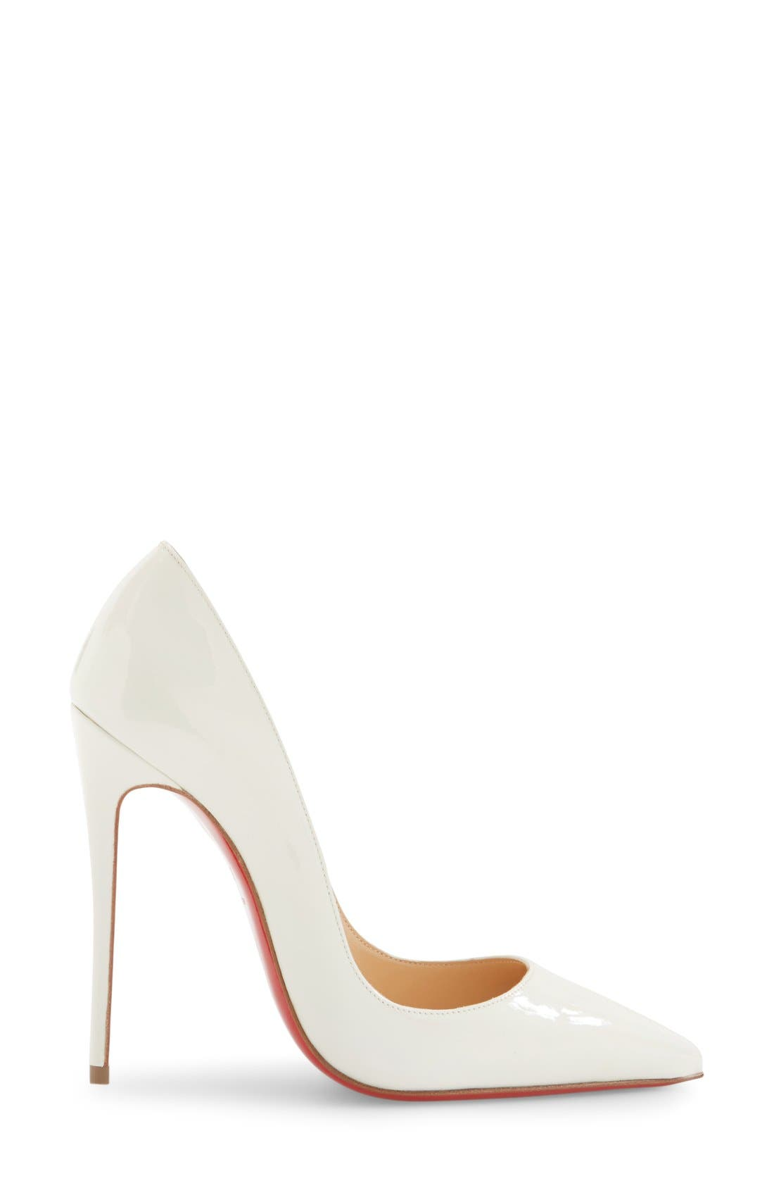 Alternate Image 4  - Christian Louboutin So Kate Pointy Toe Pump