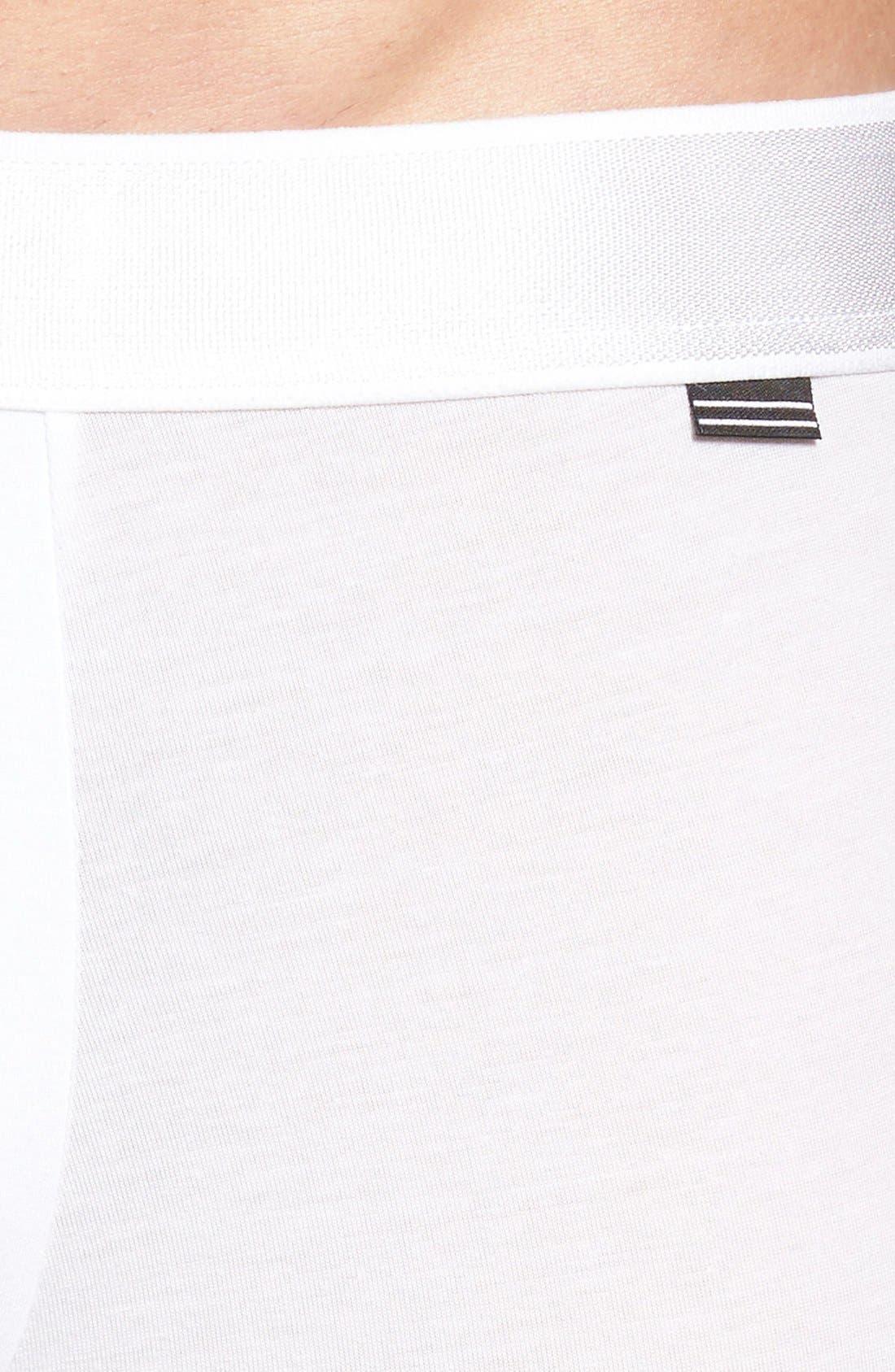 Micromodal Trunks,                             Alternate thumbnail 4, color,                             White